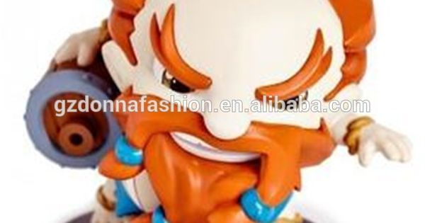 "LOL FIGURE  4/"" NO BOX #017 LEAGUE OF LEGENDS// FIGURA LULU 10 CM"