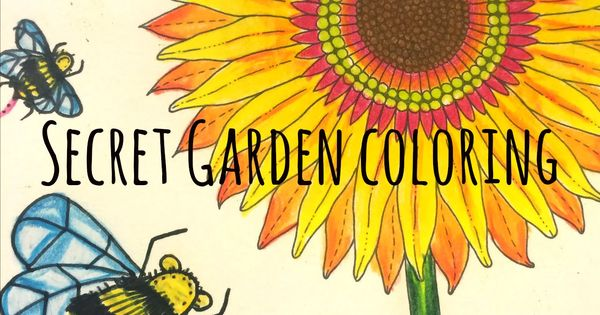 Video How To Color Secret Garden Coloring Book Using Prismacolor Premier Colored Pencils
