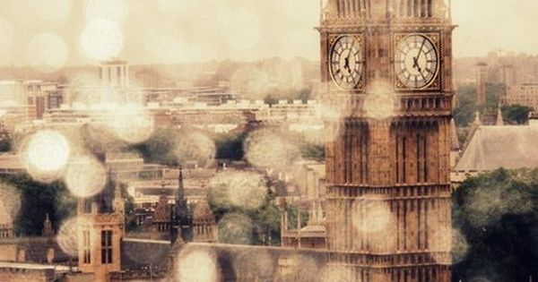 London England. Rainy day