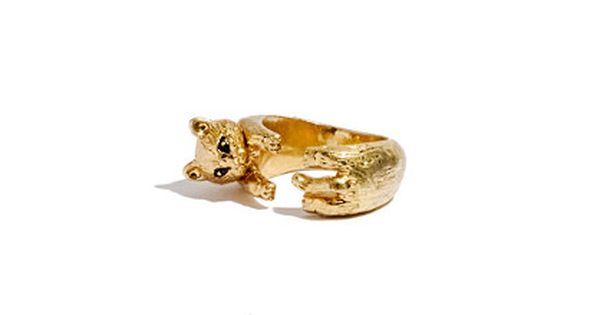 gold animal ring