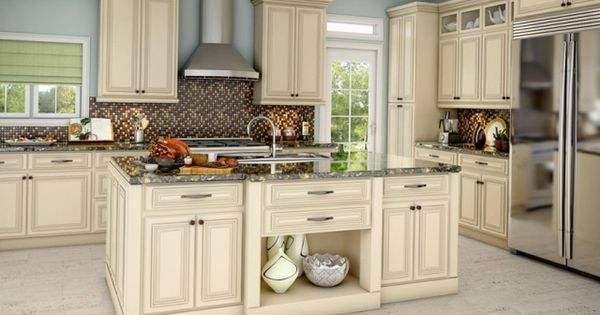 Off White Kitchen Cabinets With Antique Brown Granite off white kitchen cabinets with antique brown granite | decorating