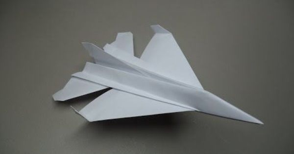 how to fold an origami f16 plane planes origami and