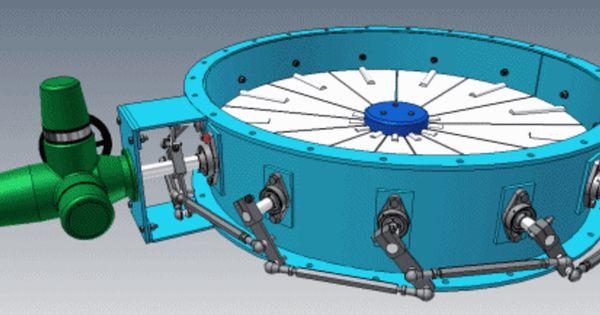 Ø1300 Vortex Damper - Autodesk Inventor, KeyCreator, STL ...