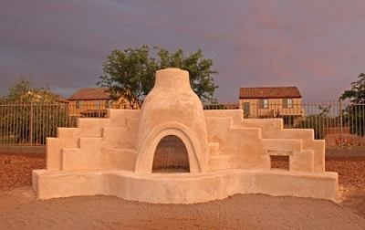 Today S Kiva Fireplace Comes In A Wide Array Of Unique And Exciting Variations Of Traditional Kiva Designs In 2020 Backyard Fireplace Fireplace Design Outdoor