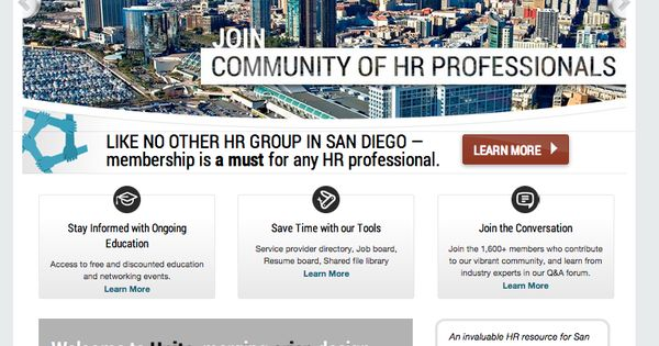 SDHR is a growing networking community for Human Resources - hr resource