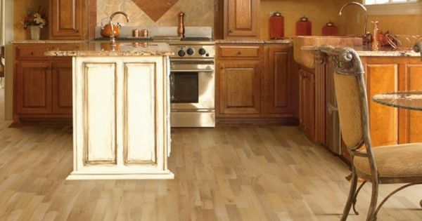 This Casabella Maple Hardwood Flooring Allows For A