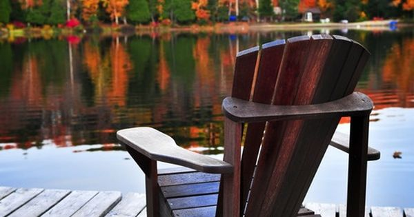 Sit By The Lake And Watch The Leaves Change So Pretty