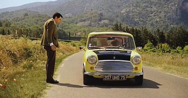 1978 Mini 1000 Mkiv Mr Bean 1990 1995 Cars From The Movies Tv Pinterest Mr Bean