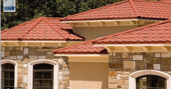 Stile Metal Spanish Roof Pictures Products Gerard Roofing Technologies Roof Architecture Metal Roof Roofing