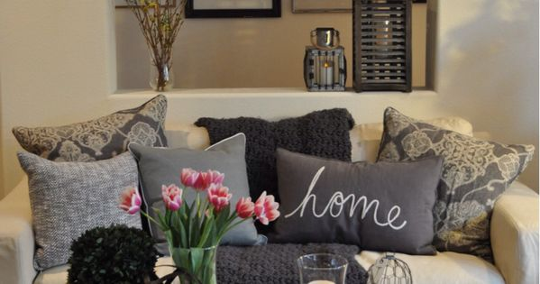 We love the atmosphere a home has when we bring a bit