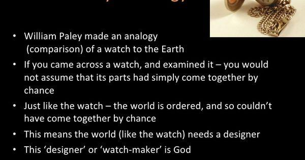 Image Result For Teleological Design Argument Argumentative Essay Existence Of God Exist
