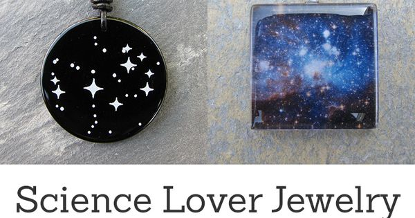 Jewelry for science lovers. Perfect for science teachers, students, researchers, and science