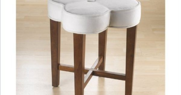 Clover Vanity Stool By Hillsdale Furniture