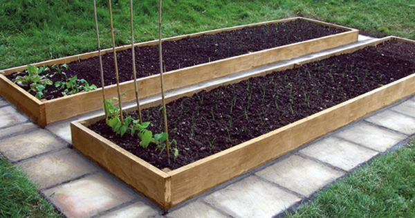 Raised Bed Gardening Ideas Money The Average Size Vegetable Bed Order Is Two 12 By 4 Ft