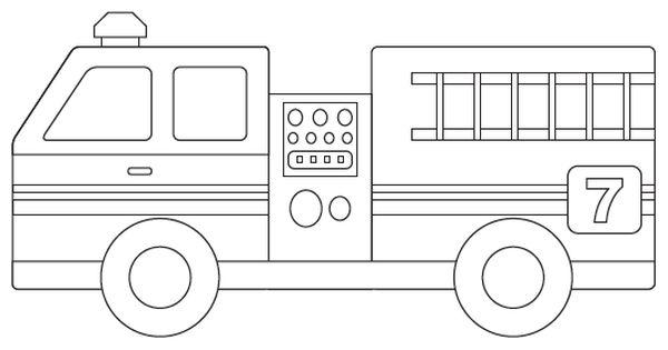 Fire Truck Template - Bilscreen