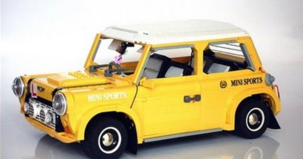 lego mini cooper lego pinterest lego lego moc and minis. Black Bedroom Furniture Sets. Home Design Ideas