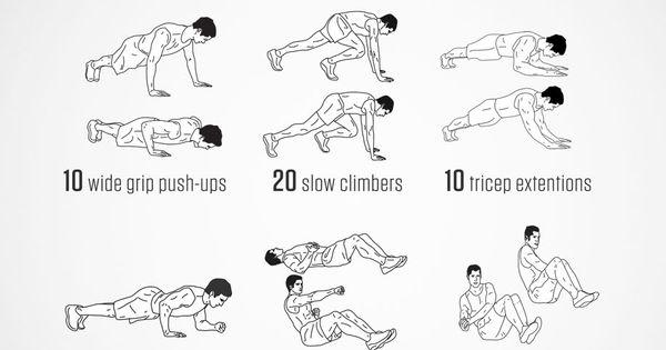 predator workout
