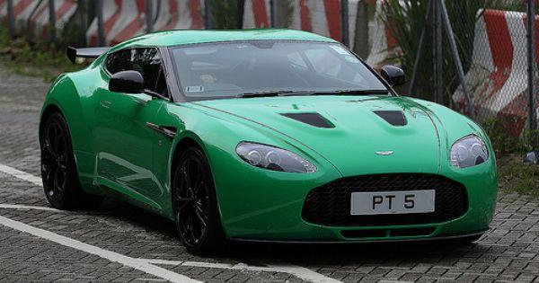 Aston Martin V12 Zagato Interior