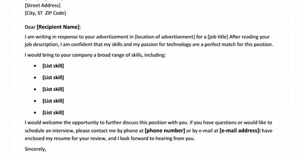 Cover letter wording help