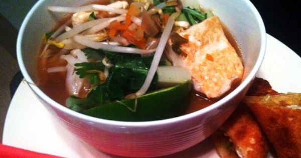 Pho, Vegetarian pho and Tofu on Pinterest