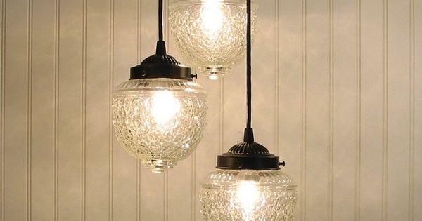 Island Falls Ii Chandelier Light Trio Created New Glass