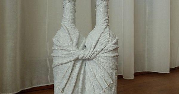Duo de naam zegt het al twee decoratieve flessen aan elkaar leuke decoratie voor in huis maar - Ch amber voor twee ...
