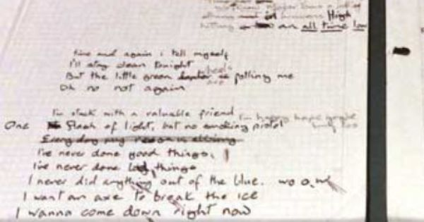 Ashes To Ashes Lyrics This Is My Favorite David Bowie Song This