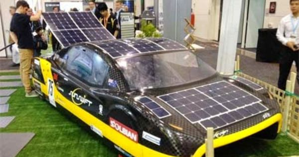 Mobil Tenaga Surya Yang Pecahkan Rekor Dunia Milik Mahasiswa Australia Sikuli Unej Tenaga Surya Mobil Australia