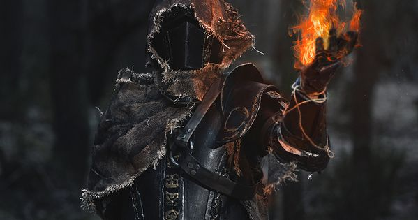 Dark Souls 3 Fire Keeper Cosplay: DS косплей,DS Cosplay,Dark Souls,фэндомы,Fire Keeper,DSIII