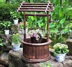 Resultado De Imagen Para Pozos De Jardin Decorativos