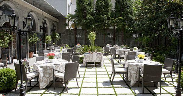 Terrazas A Pie De Calle Hotel Jardin Restaurante Jardin Terrazas
