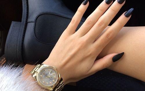 ilikeitthatway nails pinterest schwarz und fingern gel. Black Bedroom Furniture Sets. Home Design Ideas