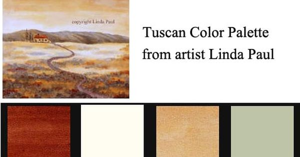 Beautiful Tuscan Color Scheme : Paint colors, Red houses and Cream on Pinterest