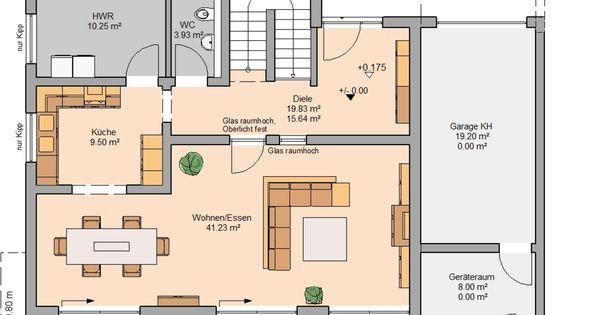 kern haus bauhaus cube grundriss erdgeschoss grundrisse pinterest nice designs bauhaus. Black Bedroom Furniture Sets. Home Design Ideas