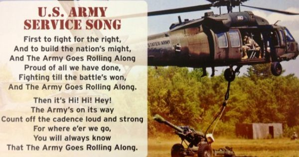 the army birthday song