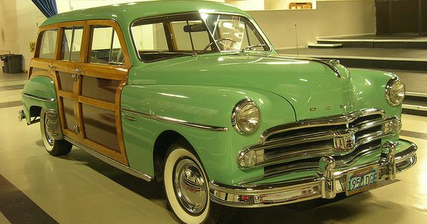1950 dodge coronet woodie station wagon 3 by jack snell for Snell motors used cars