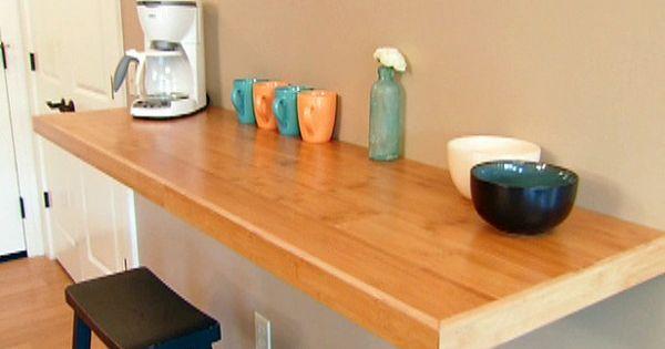 incredible wall mounted kitchen counter wall folding