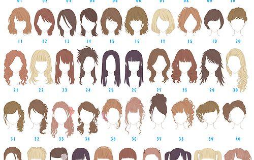 Fractalnightmare Princess Peachie Hinomaru721 Which One Is Your Hairstyle 48 U Merida Manga Hair Anime Hair How To Draw Hair