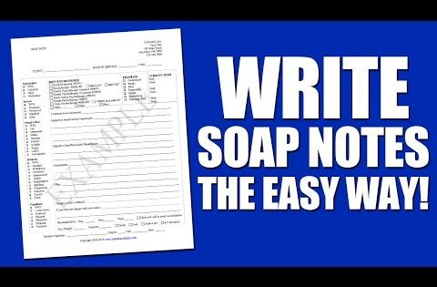 Soap Note Example List For Notes Pinterest Soap