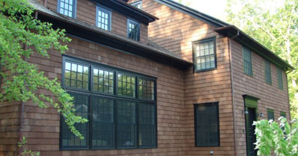 Sherwin Williams Riverwood Stain Shingle House Cedar Siding Shingle Exterior