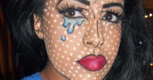 Comic Strip Makeup! Good for Halloween! :) | Halloween | Pinterest ...