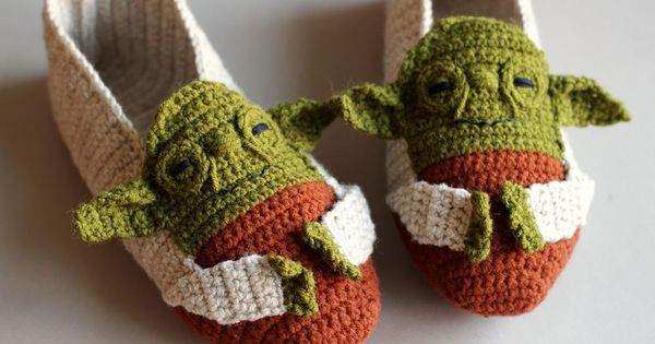 Yoda Shoes Crochet Pattern