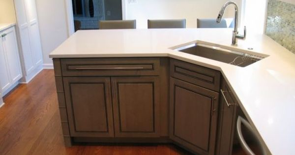 18 Space Saving Corner Sink Ideas That Are Ideal For Small Kitchens Corner Sink Kitchen Kitchen Remodel Small Kitchen Layout