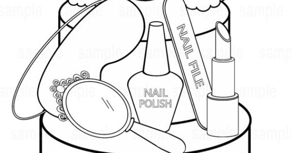 spa party coloring pages - photo#5