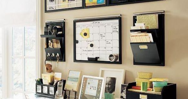 Small Office Organization Ideas | Five Small Home Office Ideas