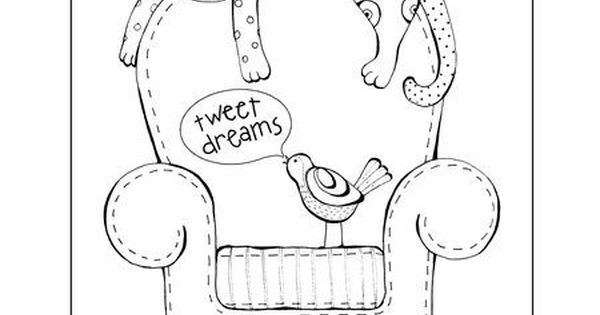 resting coloring pages - photo#23