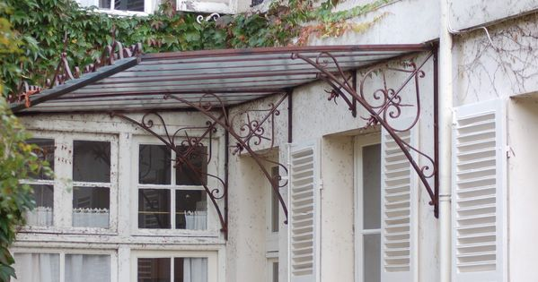 marquises ferronnerie d 39 art marquise pinterest. Black Bedroom Furniture Sets. Home Design Ideas