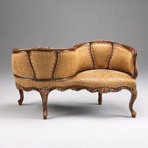 Gorgeous Tete A Tete Conversation Sofa Loveseat Chair Unique New