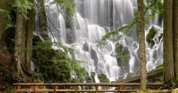Ramona Falls, Mount Hood Wilderness, USA - Spectacular Places