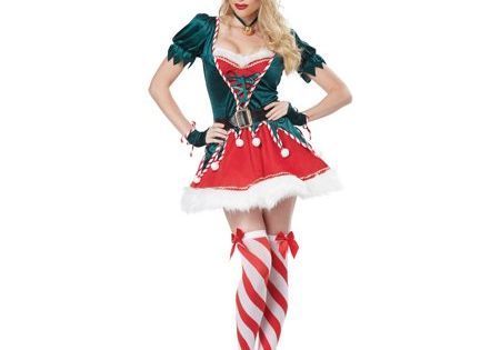 Womens Santas Helper Costume Walmart Com In 2020 Christmas Elf Costume Xmas Costumes Elf Costume